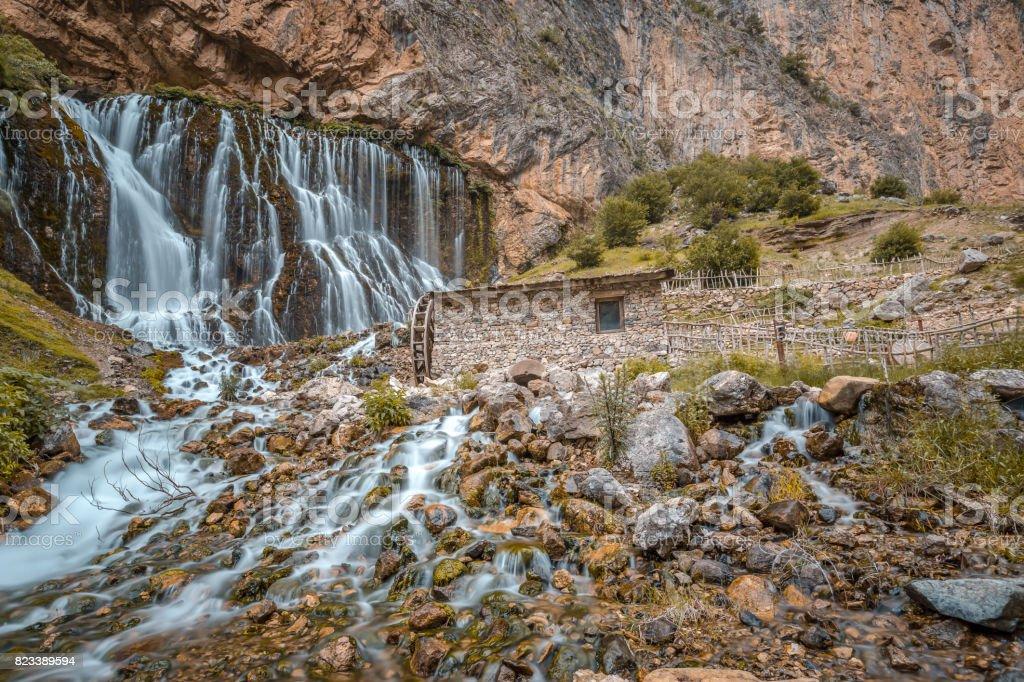 Kapuzbasi waterfall stock photo