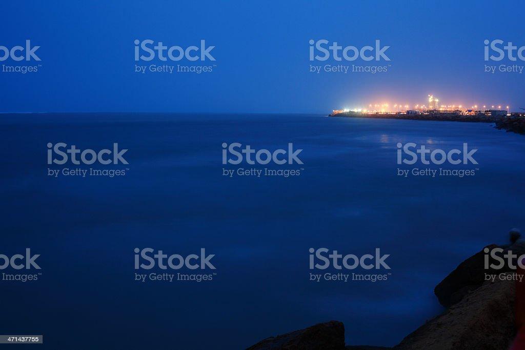 Karachi Marina Development stock photo
