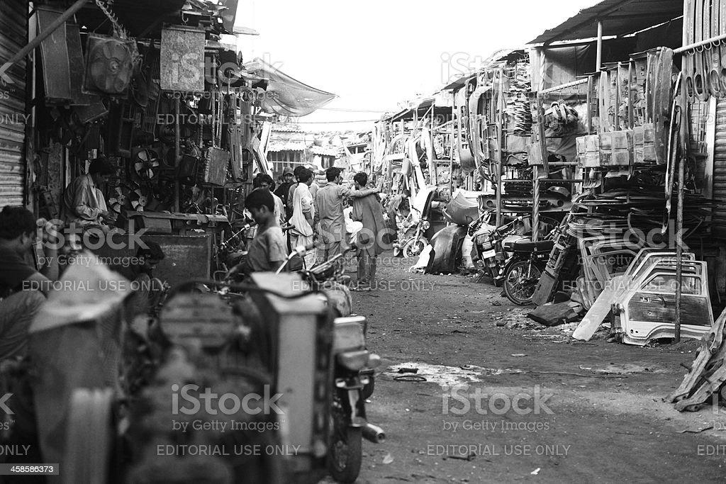 Mallu bazar market karachi pakistan - 4 4