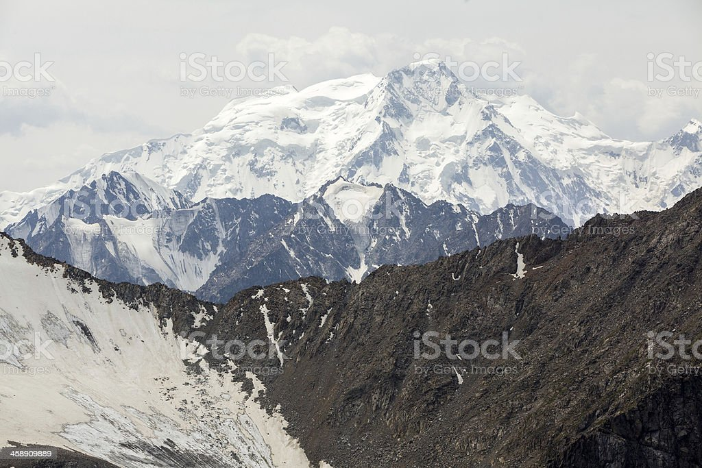 Karakol mountain in Kyrgyzstan royalty-free stock photo