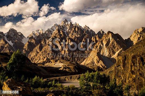 Karakorum range , Pakistan