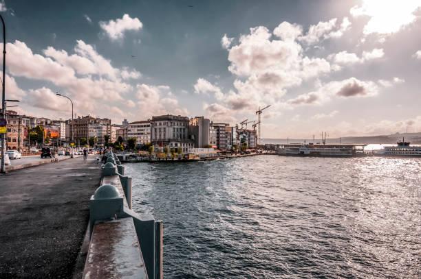 karakoy district of beyoglu, istanbul - каракёй стамбул стоковые фото и изображения