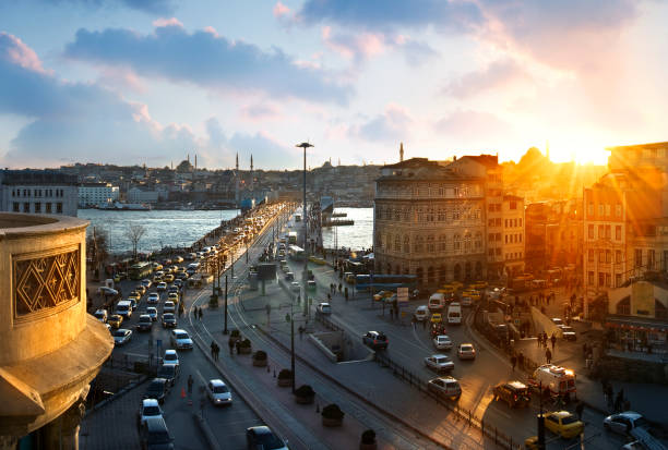 karakoy istanbul. - каракёй стамбул стоковые фото и изображения