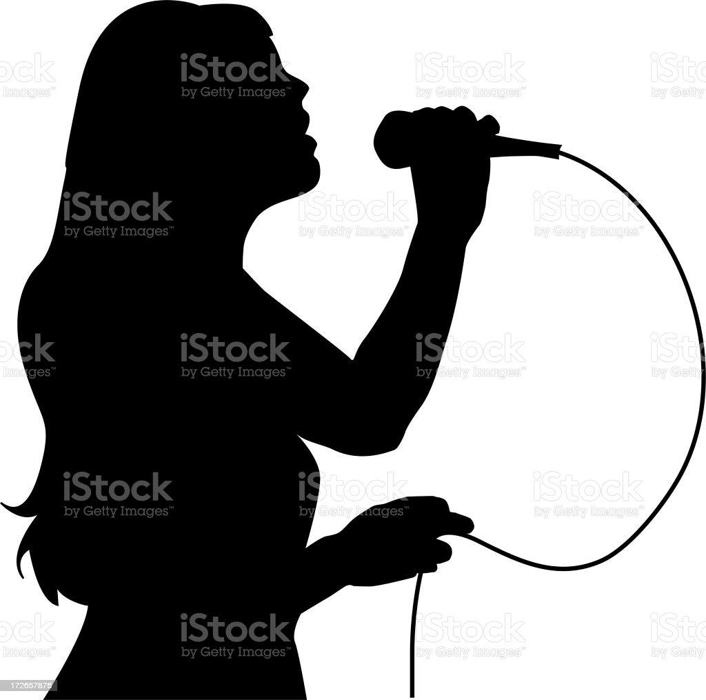 Karaoke Idol royalty-free stock photo