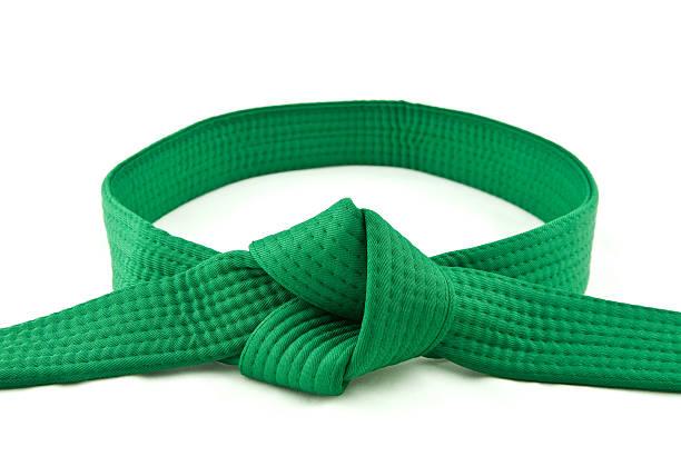 Karate Gürtel grün – Foto