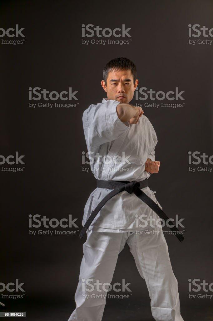 karate judo image stock photo