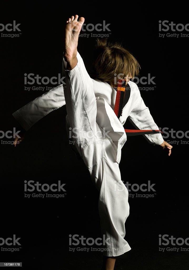 Karate kid - foto stock