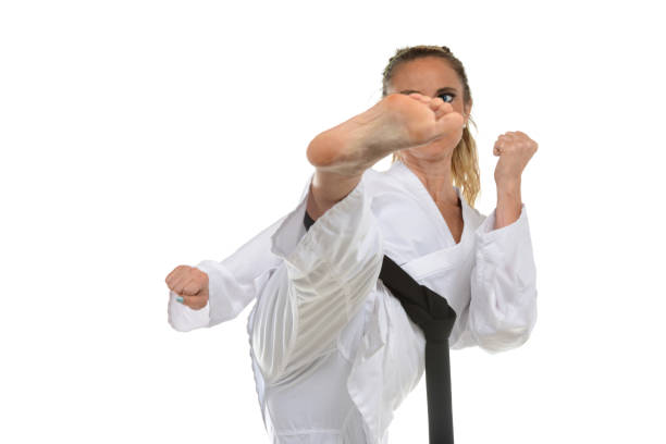 Karate-Do stock photo