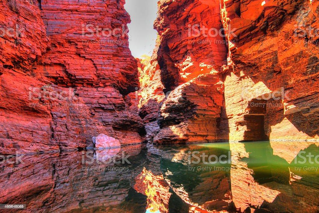 Karijini National Park, Australia stock photo