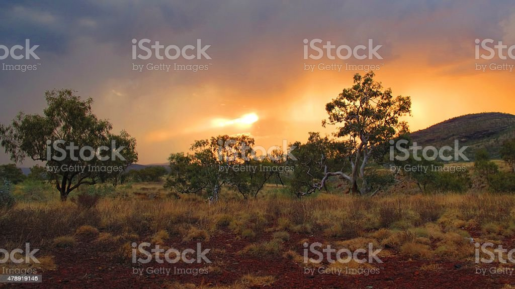 Karijini National Park, Western Australia stock photo