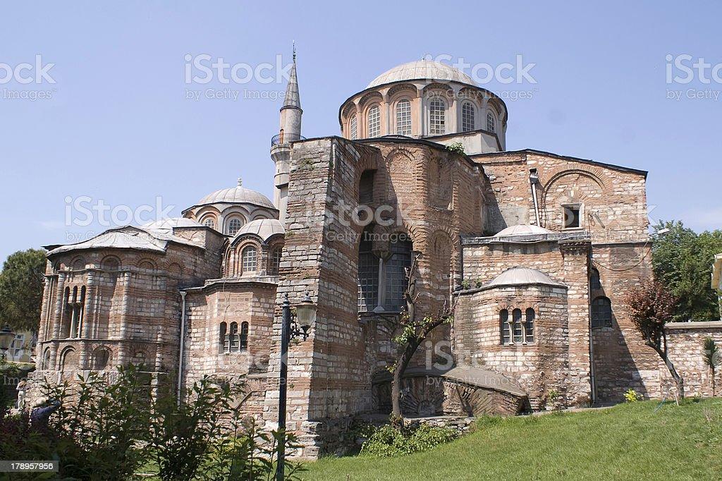 Kariye Museum in Istambul royalty-free stock photo