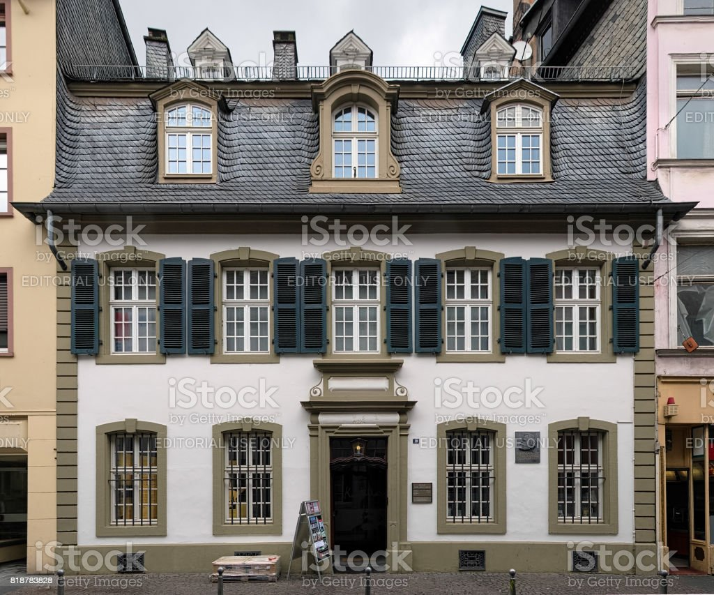 The polyglot club of Luxembourg celebrates its twentiest anniversary Karl-marx-house-in-trier-germany-picture-id818783828