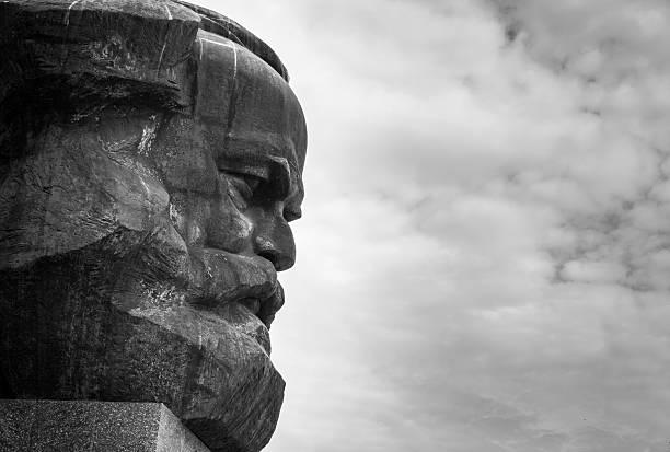 Karl Marx Monument - Chemnitz, Saxony, Germany. – Foto