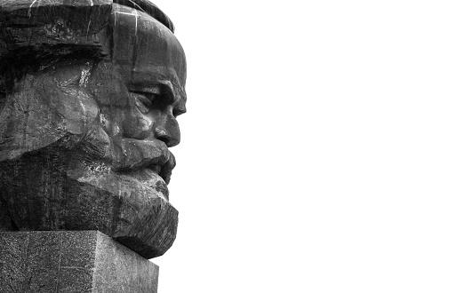 Karl Marx Monument Chemnitz Saxony Germany Stock Photo - Download Image Now