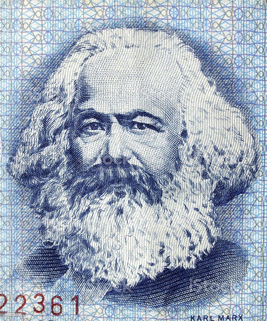 Karl Marx stock photo
