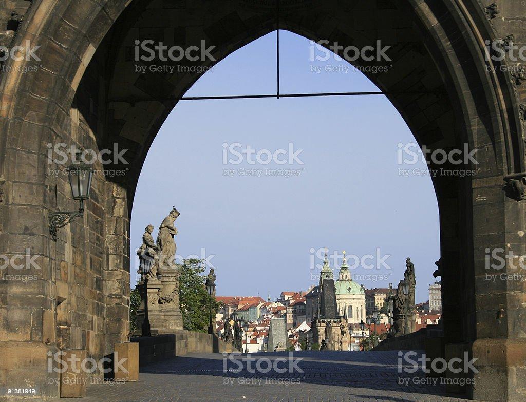 Karlov bridge royalty-free stock photo
