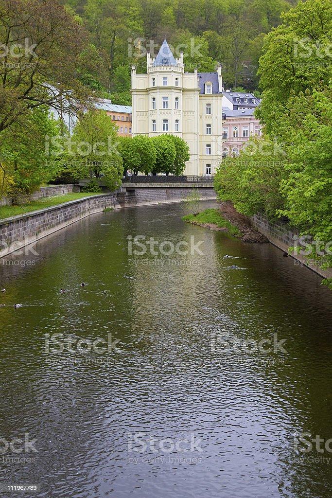 Karlovy Vary. Czech Republic stock photo