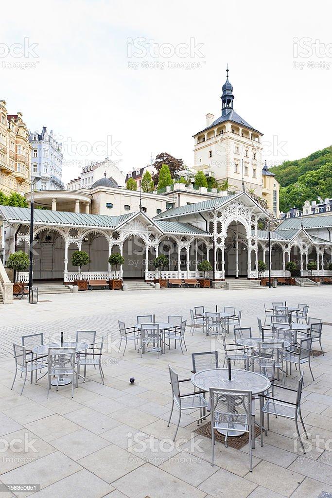 Karlovy Vary (Carlsbad) royalty-free stock photo