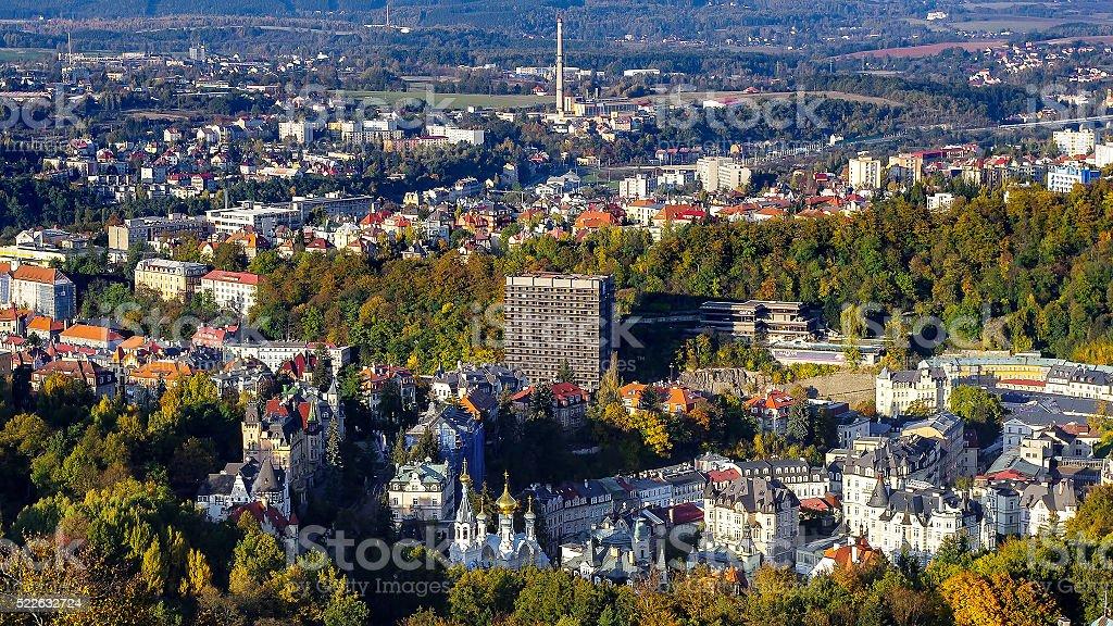 Karlovy Vary royalty-free stock photo