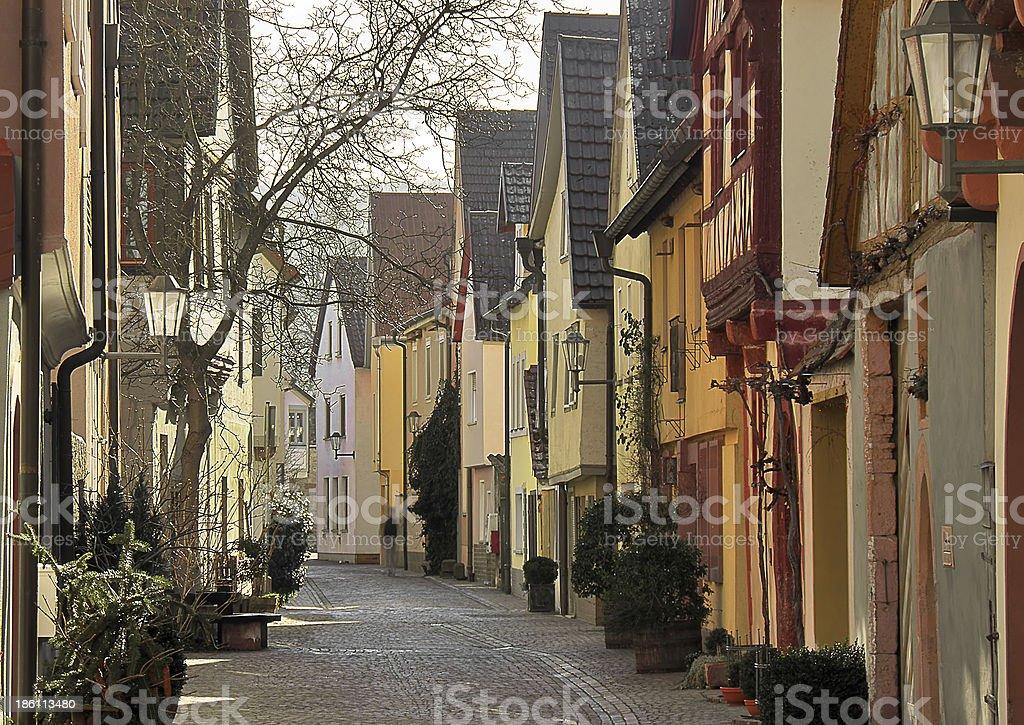 Karlstadt stock photo