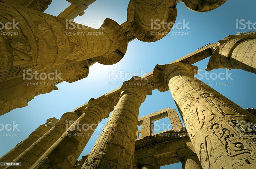 Karnak, Egypt Mystery royalty-free stock photo