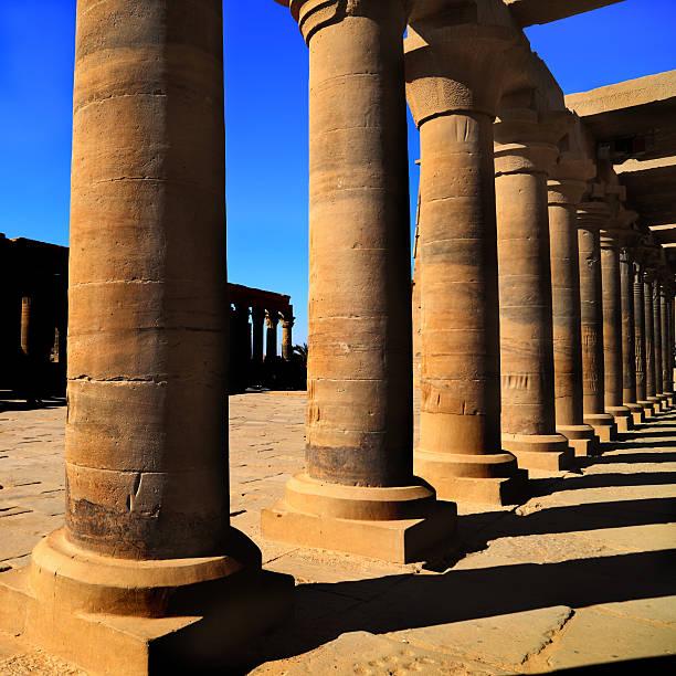 Karnak religious in Egypt stock photo