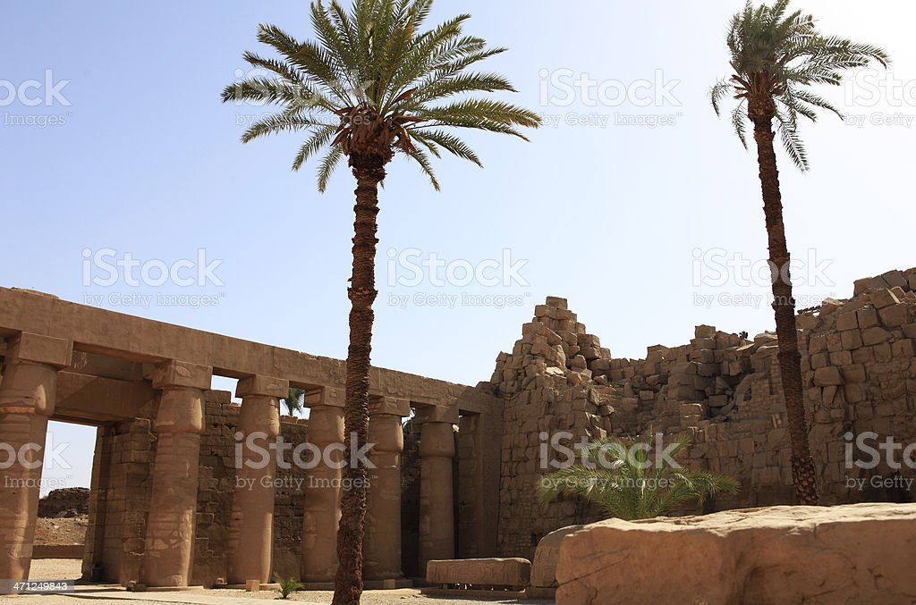 Karnak Temple - Bubastis Portal stock photo