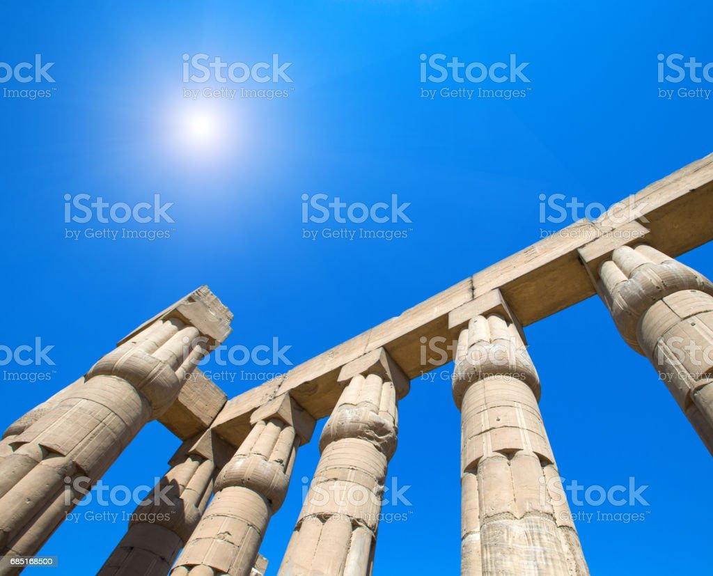 Karnak Temple Complex in Luxor foto de stock libre de derechos
