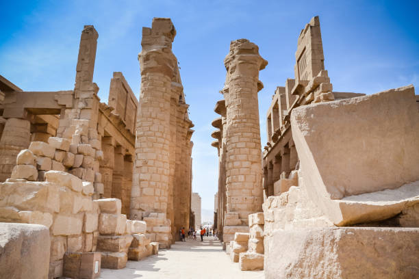 Karnak Temple Complex. Luxor. Egypt. Karnak Temple Complex. Luxor. Egypt. ancient civilization stock pictures, royalty-free photos & images
