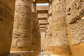 The Great Hypostyle Hall was part of one of the largest religious complexes in the ancient world, located in Egypt in Thebes -today, the city of Luxor. The Great Hypostyle Hall was built by Pharaoh Seti I beginning around 1250 BC.