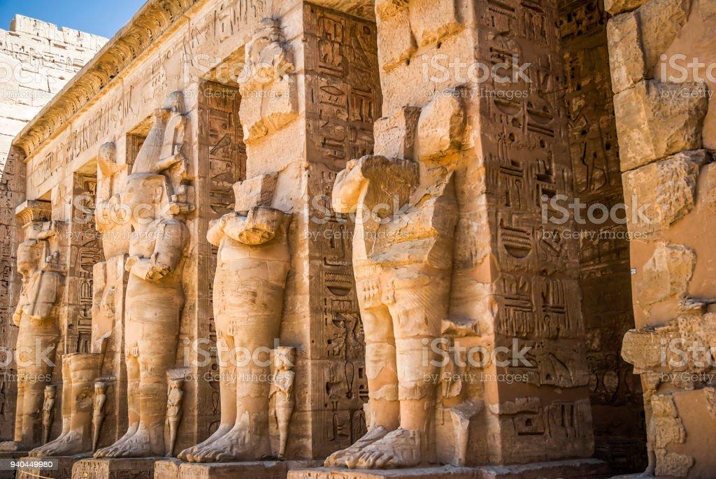 Karnak Temple in Luxor stock photo