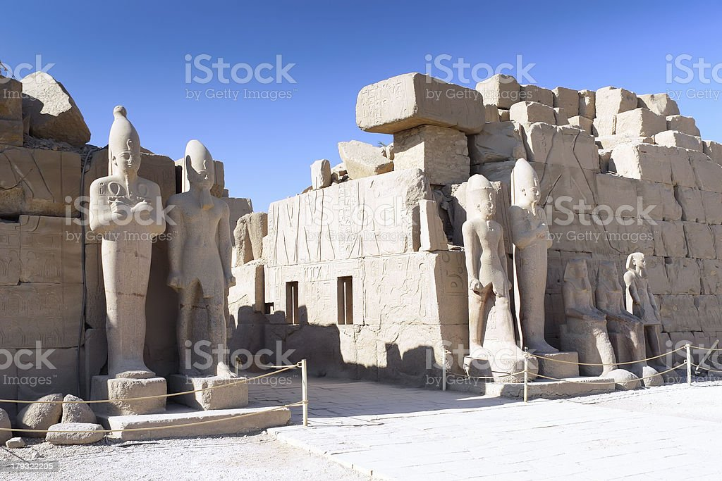 Karnak Temple , Luxor, Egypt. royalty-free stock photo