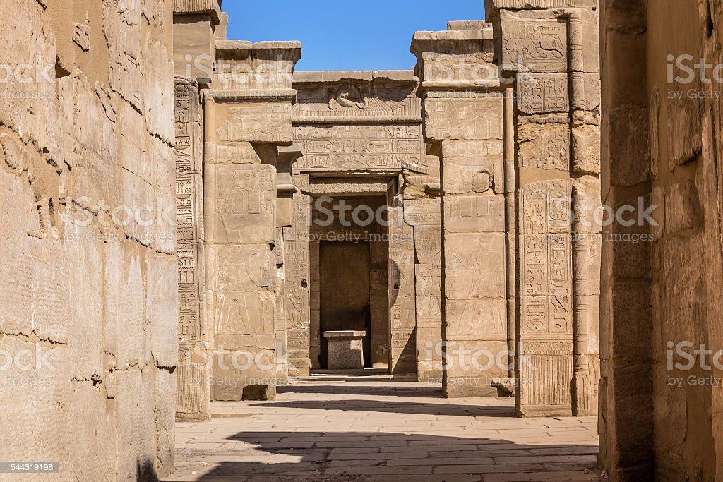 Karnak Temple Ptah stock photo
