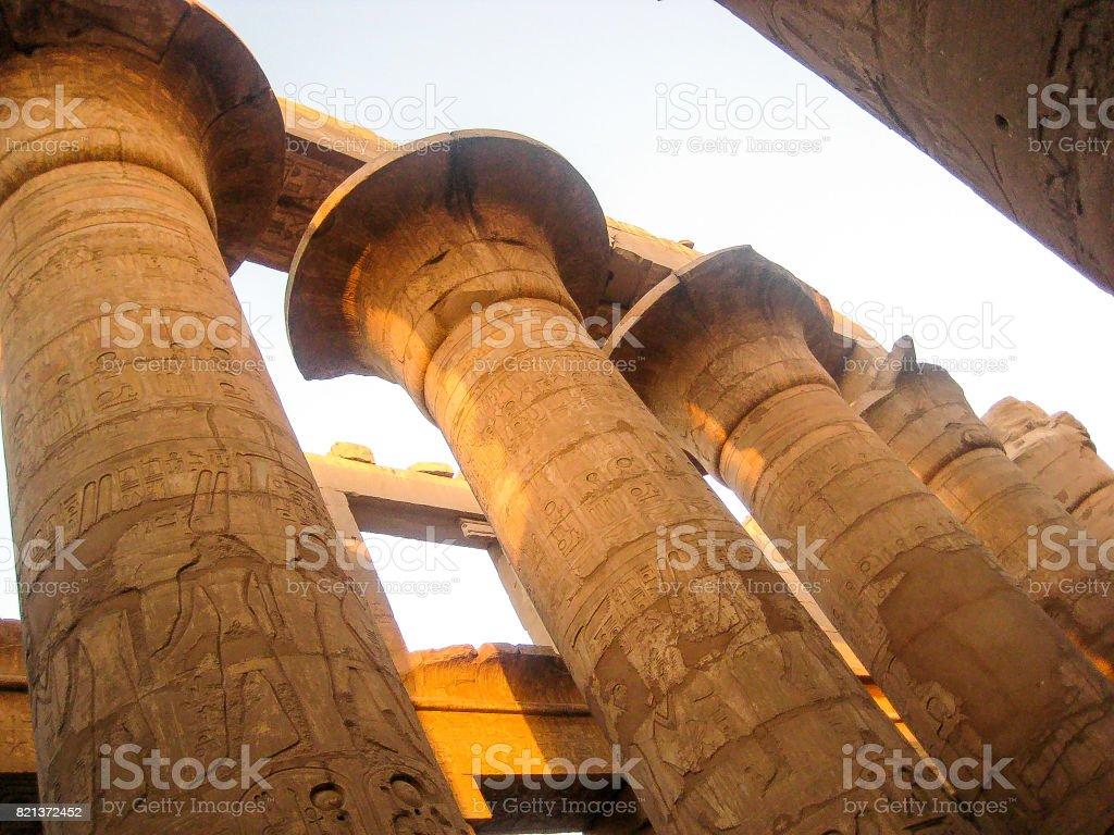 Karnak-Luxor stock photo