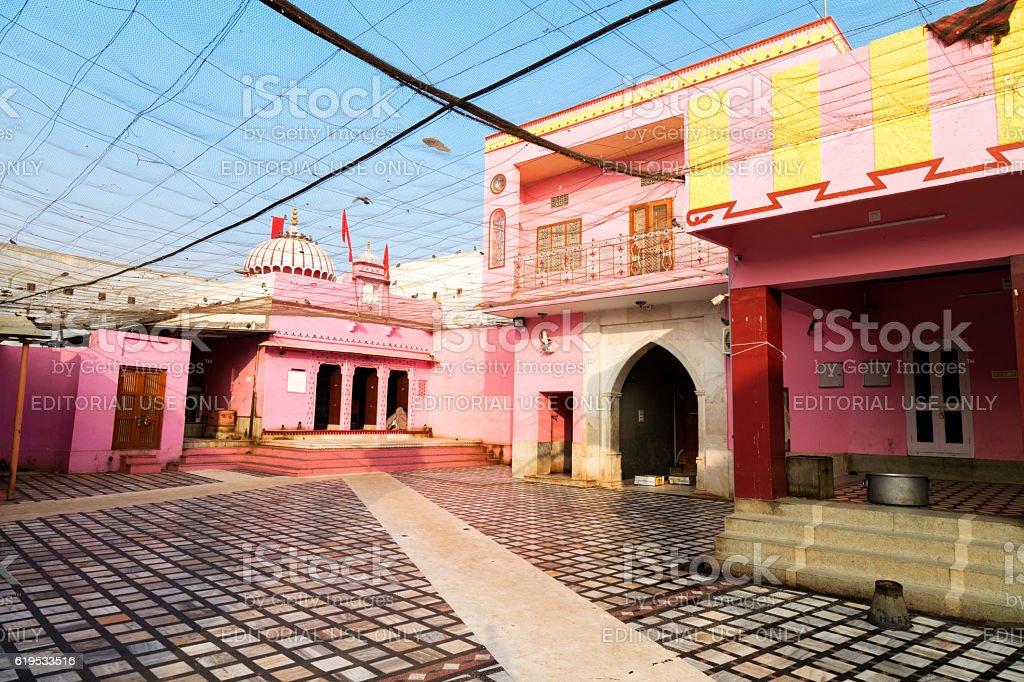Karni Mata Temple, Temple of Rats, Rajasthan, India stock photo