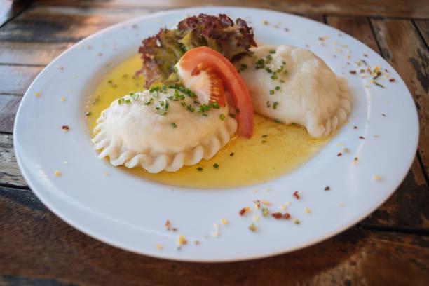 Kärntner Kasnudeln oder österreichischen Käse Nudeln – Foto