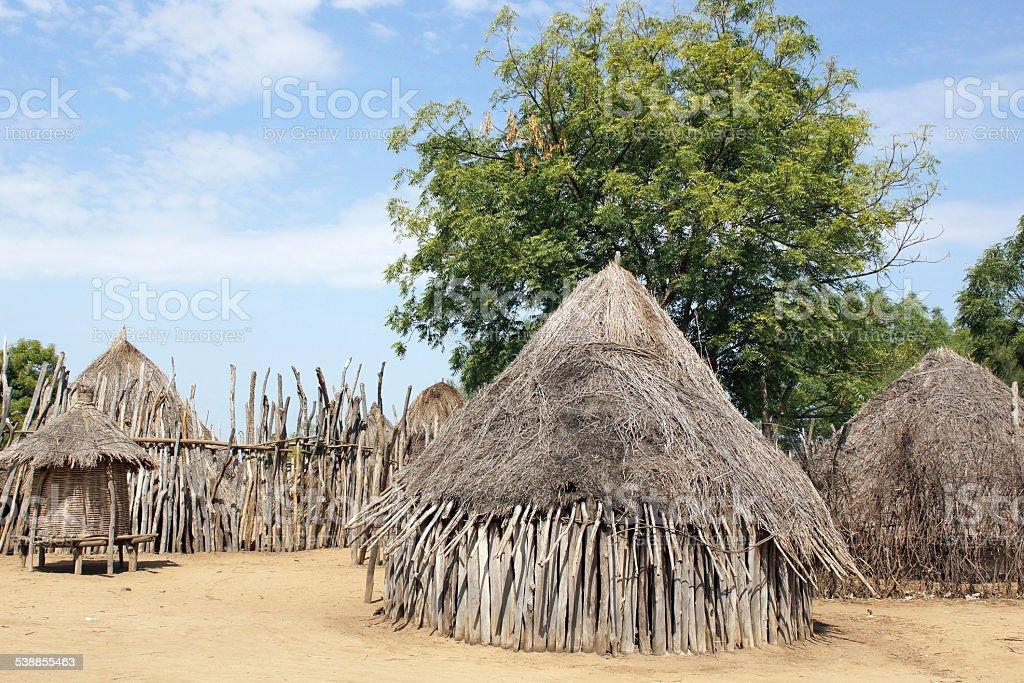 Karo, Ethiopia, Africa stock photo