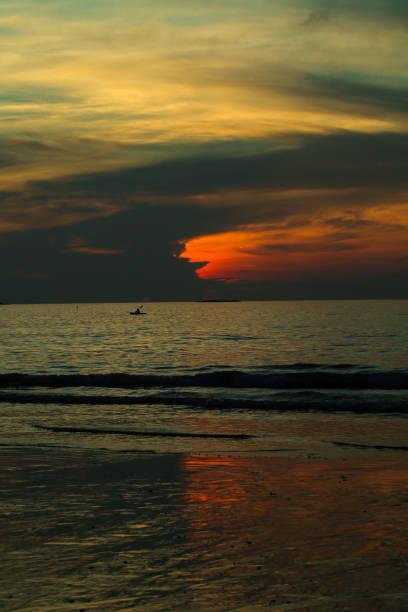 Karon Beach Phuket, Thailand. stock photo