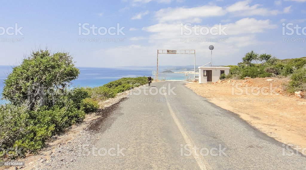 Karpasia wild nature. Karpass peninsula National park of Northern Cyprus foto stock royalty-free