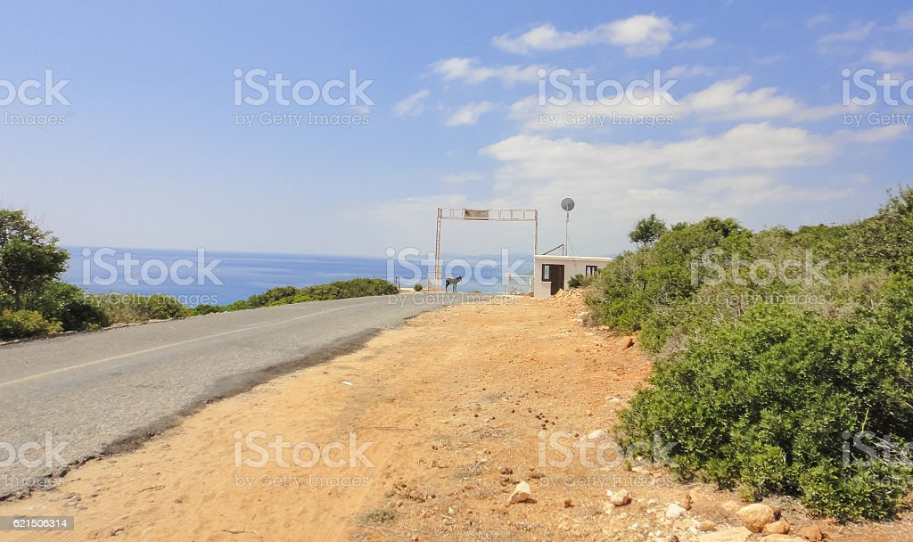Karpasia wild nature. Karpass peninsula National park of Northern Cyprus Lizenzfreies stock-foto