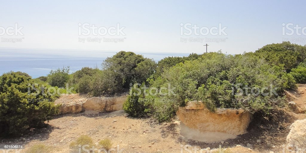Karpasia wild nature. Karpass peninsula National park of Northern Cyprus photo libre de droits