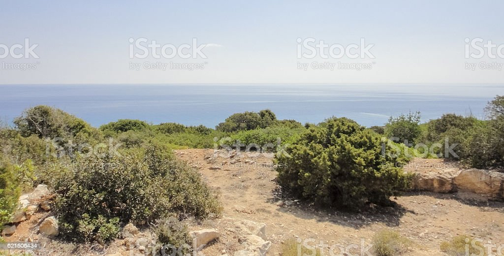 Karpasia wild nature. Karpass peninsula National park of Northern Cyprus Lizenzfreies stock-foto