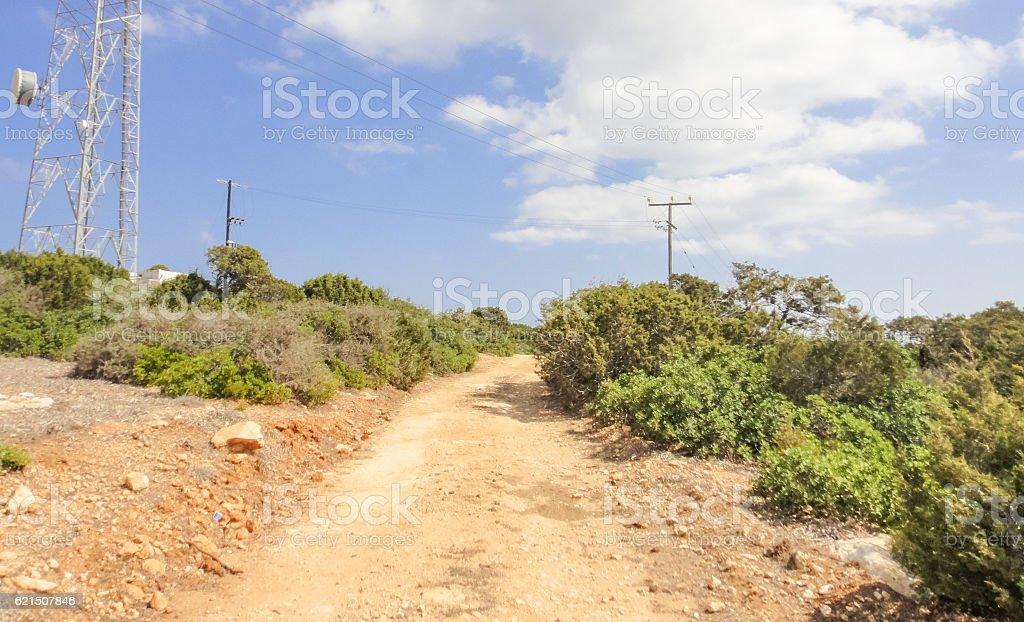 Karpasia wild nature. Karpass peninsula of Northern Cyprus (Rizokarpaso, Dipkarpaz) Lizenzfreies stock-foto