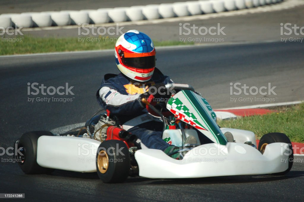 Kart in action #36 royalty-free stock photo