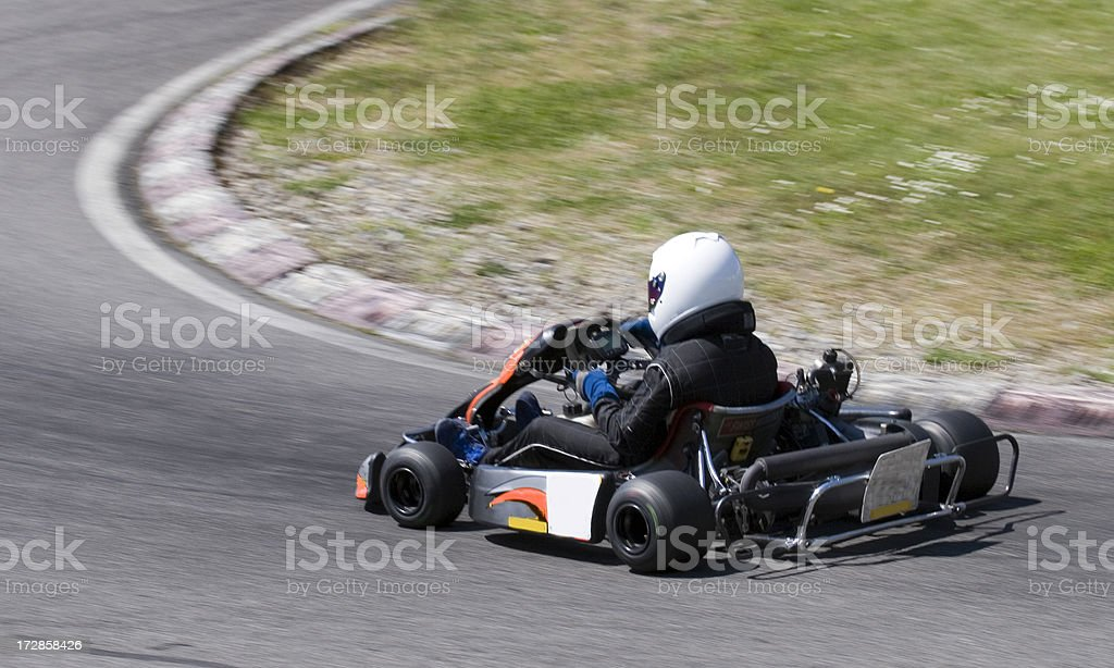 Kart race royalty-free stock photo