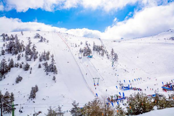 kartalkaya 스키 리조트, 볼 루 - 볼루 뉴스 사진 이미지