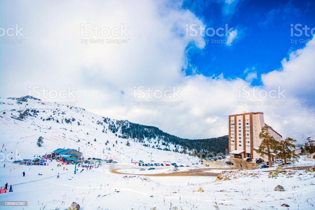 Kartalkaya Ski Resort Bolu Stock Photo More Pictures Of Adventure