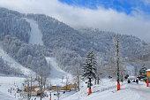 It is a very popular ski resort near Istanbul, in winter season.