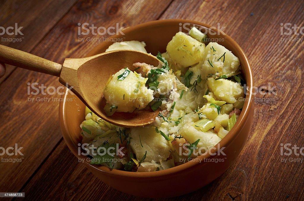 Kartoffelsalat stock photo