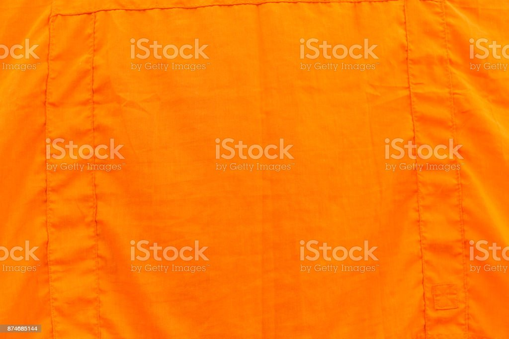 Kasaya clothing or Robes cloth wear by Buddhist Monks and Nuns Asian Buddhist stock photo